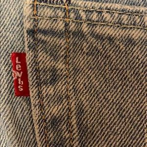 Levi's Jeans - Levi's Re-habbed Medium-Wash Distressed Jeans